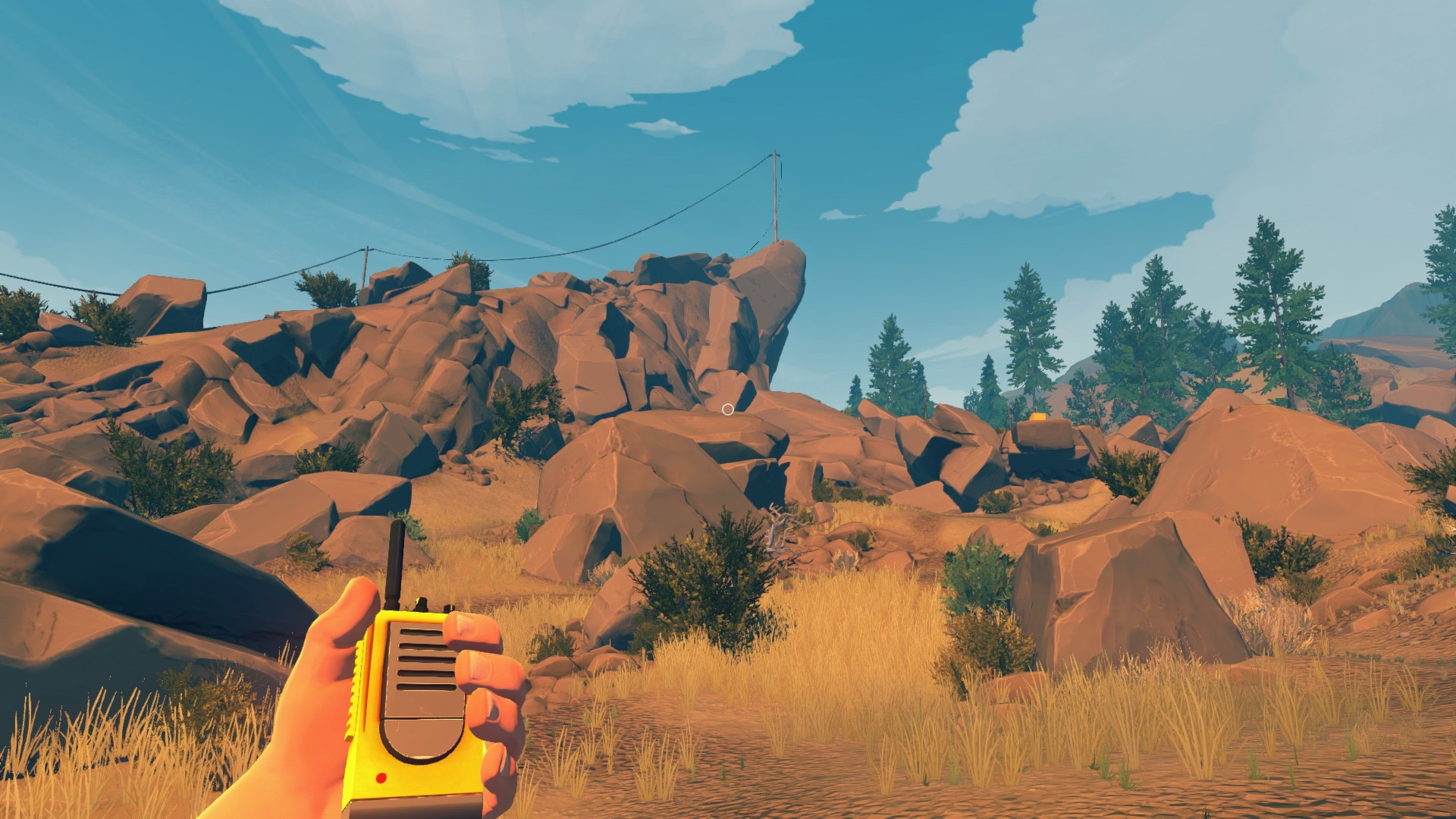 firewatch radio